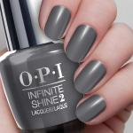 O.P.I Infinite Shine 2 Nail Lacquer 15ml #Steel Waters Run Deep