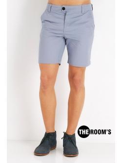กางเกงขาสั้น สุดชิล สีเทาฟ้า