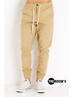 Jogger Pants สีครีม