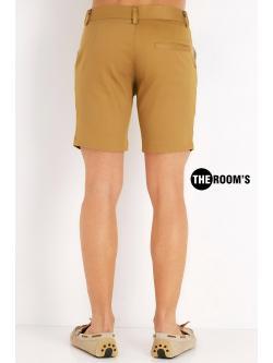 กางเกงขาสั้น สุดชิล สีกากี