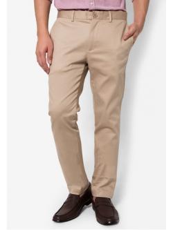 กางเกงขายาว Chino สีครีม