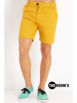 กางเกงขาสั้นสี มัสตาส