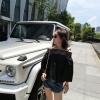 เสื้อแฟชั่นโชว์ไหล่ น่ารักสไตล์เกาหลี สีดำ
