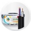 สายRG6 95% Power wire 100M สีขาว/สีดำ