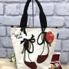 MIS ZAPATOS MINI TOTE BAG-ขาว