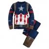 ชุดนอนเด็ก กัปตัน อเมริกา Captain America Costume PJ PALS for Boys - Captain America: Civil War