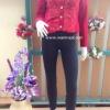 โค้ทวูลตัวสั้น งานเกรดพรีเมี่ยม ดีเทลวูลแต่งสลับเฟอร์ลายดอกไม้