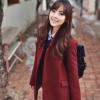สีไวน์แดง-เสื้อคลุม โค้ทกันหนาว สไตล์นักเรียนเกาหลี