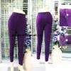 กางเกงบิ๊กไซด์บุผ้าวูล พรีเมี่ยม สีม่วง (women plus)