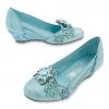 รองเท้าคัชชูเด็ก เอลซ่า ไซส์ : 17 ซม. Elsa Costume Shoes for Kids