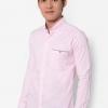 เสื้อเชิ้ต Colour Block Pocket ( SIZE L )