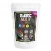 เม็ดพลาสติกสีสะท้อนแสง 2 สี สำหรับผสมสีกับพลาสติกปั้นได้ - PLASTIC MAX - 2 NEON COLORS Moldable Plastic for DIY CRAFT ART