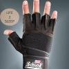 ถุงมือฟิตเนส Schiek สีดำ ไซส์ XL
