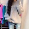 Sweater เสื้อไหมพรมถัก มีประกายวิ้งๆ สีเทา