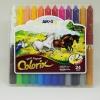 สีเทียน Amos สีเทียนเนื้อไหม 24 สี (Amos Colorix silky crayon 24 สี)