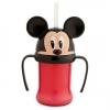 ถ้วยหัดดื่มพร้อมหลอดสำหรับเด็ก มิกกี้เมาส์ Mickey Mouse Head Cup with Straw for Kids