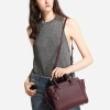 CHARLES & KEITH BOXY TRAPEZE BAG *RED Wine