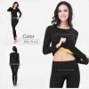 ชุดลองจอนหญิง รุ่นวูลผสมขนแพะ+แคชเมียร์