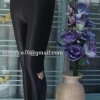 เลคกิ้งผ้ากึ่งหนัง ด้านในบุผ้าดับเบิ้ลวูลพรี่เมี่ยมให้ความอุ่น ปลายขาแต่งเฟอร์