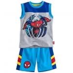 ชุดนอนเด็ก สไปเดอร์แมน Spider-Man Tank and Shorts Set for Boys