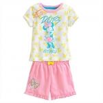 ชุดนอนเด็ก มินนี่เมาส์ Minnie Mouse Short Sleep Set for Girls