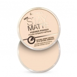 Rimmel London Stay Matte Long Lasting Pressed Powder 14g #001 Transparent