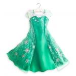 ชุดราตรีเจ้าหญิงเอลซ่า โฟรเซ่น Elsa Costume for Kids - Frozen Fever