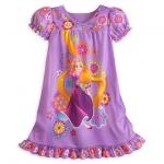 ชุดนอนเด็ก ราพันเซล Rapunzel Nightshirt for Girls