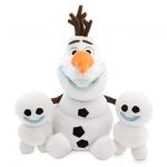 ตุ๊กตา โอลาฟ และสโนว์กี้ Olaf and Snowgies Plush - Small - 8'' - Frozen Fever