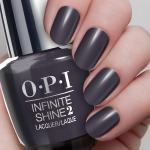 O.P.I Infinite Shine 2 Nail Lacquer 15ml #Strong Coal-Ition