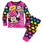 ชุดนอนเด็ก มินนี่เมาส์ คลับเฮาส์ Minnie Mouse Clubhouse PJ PALS for Girls
