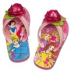 รองเท้าแตะเด็ก ดีสนีย์ ปริ้นเซส Disney Princess Flip Flops for Kids