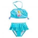 ชุดว่ายน้ำเด็ก ทูพีช ทิงเกอร์เบลล์ Tinker Bell Swimsuit for Girls - 2-Piece