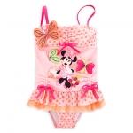 ชุดว่ายน้ำเด็ก ทูพีช มินนี่เมาส์ Minnie Mouse Clubhouse Deluxe Swimsuit for Girls