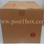 กล่องไปรษณีย์ ฝาชน เบอร์ 7 ขนาด 35x50x32 ซม.
