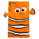 ผ้าเช็ดตัวเด็ก นีโม เบบี้ Nemo Beach Towel for Baby