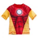 เสื้อว่ายน้ำเด็ก ไอรอนแมน Iron Man Rashguard for Boys