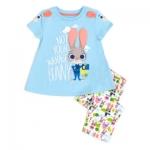 ชุดนอนเด็ก ซูโทเปีย Zootropolis Premium Pyjamas For Kids