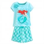 ชุดนอนเด็ก แอเรียล Ariel Short Sleep Set for Girls