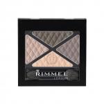 Rimmel London Glam'Eyes Quad Eyeshadow #028 English Breakfast