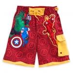 กางเกงว่ายน้ำเด็ก อเวนเจอร์ Avengers Swim Trunks for Boys
