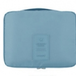 กระเป๋าอเนกประสงค์ใส่เครื่องสำอาง ใส่ของใช้ส่วนตัว (สีฟ้าอ่อน)