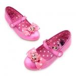 รองเท้าคัชชูเด็ก มินนี่เมาส์ Minnie Mouse Costume Shoes for Kids - Pink