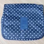 กระเป๋าอเนกประสงค์ จัดระเบียบกระเป๋าเดินทาง (สีน้ำเงินจุดขาว)