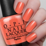 O.P.I Nail Lacquer #Hot & Spicy