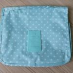กระเป๋าอเนกประสงค์ จัดระเบียบกระเป๋าเดินทาง (สีเขียวจุดขาว)