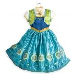 ชุดราตรีเจ้าหญิงแอนนา โฟรเซ่น Anna Costume for Kids - Frozen Fever