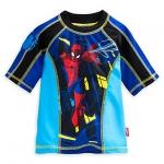 เสื้อว่าน้ำเด็ก สไปเดอร์แมน Spider-Man Rash Guard for Boys