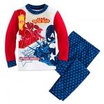 ชุดนอนเด็ก มาร์เวล กัปตัน อเมริกา Marvel's Captain America: Civil War PJ PALS for Boys