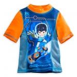เสื้อว่ายน้ำเด็ก ไมล์ส ฟรอม ทูมอร์โรว์แลนด์ Miles from Tomorrowland Rash Guard for Boys